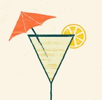 SUMMERTIME COCKTAILS. Un proyecto de Diseño e Ilustración de Pablo Fernández Tejón - Lunes, 24 de junio de 2013 11:53:13 +0200