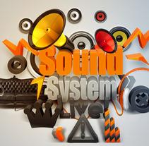Sound. A Design, Illustration, and 3D project by Fina Marin Sánchez         - 24.06.2013