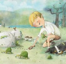 Ilustración infantil. A Illustration project by Adriana Santos         - 25.06.2013