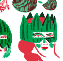 Watermelon Women. A Illustration project by Cristina Daura - 25-06-2013
