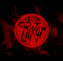 Logo INDOORBIKER. A Design project by Ricardo Rupérez Mateo         - 25.06.2013