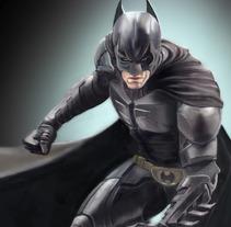 Batman. A Illustration, Advertising, Installations, Film, Video, TV, and UI / UX project by Arturo Paiva Mediavilla         - 26.06.2013