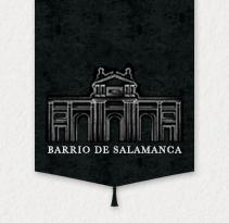 BARRIO DE SALAMANCA · Custom Blog Design. Un proyecto de Diseño, Ilustración, Dirección de arte, Br, ing e Identidad, Gestión del diseño, Diseño gráfico y Diseño Web de Mapy D.H. - Lunes, 15 de julio de 2013 00:00:00 +0200