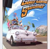 GÜERCOME SUMMER. Un proyecto de Diseño e Ilustración de Jose Miguel Balbuena Heredia - 02-07-2013