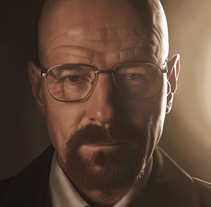 Bryan Cranston aka Walter White Portrait. A Illustration project by VitoDesArts - 07.04.2013