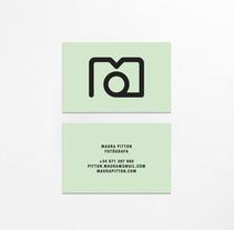 Maura Pitton. Un proyecto de Diseño gráfico de Bruno Baeza - Martes, 23 de julio de 2013 00:00:00 +0200