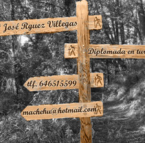 tarjeta de visita . A Design, and Advertising project by Mariola Rodríguez Villegas - 30-07-2013