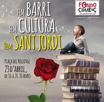 Campanya Sant Jordi. Um projeto de Design de Samuel  Herrera Pérez         - 08.08.2013