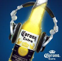 Música con Corona. A Design, Advertising, and Photograph project by Rolando Cardozo         - 21.08.2013
