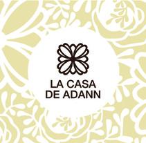 La Casa de Adann - Restaurante. A Design&Illustration project by Emma Yanzi - 21-08-2013