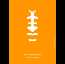 El quinto elemento póster. Um projeto de Ilustração de Jose Luis Torres Arevalo         - 02.09.2013
