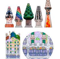 Gaudí. A Design&Illustration project by sergi padró matas         - 20.09.2013