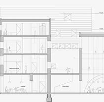 Residencia de estudiantes. Tarragona. A Design project by josé tourón         - 21.09.2013