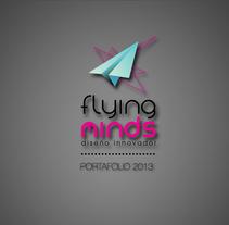 Agencia de diseño ''FLYING MINDS''. A Design project by Constanza Camila Constanzo Vásquez         - 30.09.2013