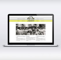 Web y Biblioteca virtual Fundación la Sierra CV. Um projeto de Design de Maria José Cuenca Ibáñez         - 03.10.2013