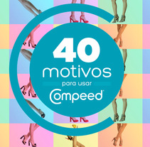 Letterings Microsite Compeed. A Design, Illustration, and Advertising project by Álvaro Antonio Redondo Margüello         - 09.10.2013