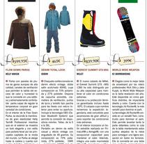 Sección bazar/moda invierno revista Mas Viajes. Un proyecto de  de Manu         - 11.10.2013