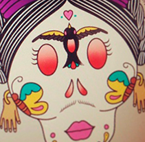 FRIDUCHA I · Vector Illustration . Un proyecto de Diseño, Ilustración, Dirección de arte, Br, ing e Identidad, Gestión del diseño y Diseño gráfico de Mapy D.H. - Viernes, 11 de octubre de 2013 00:00:00 +0200