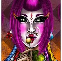 Lolyta Style. Um projeto de Ilustração de Madame Bizarre - 22-10-2013