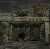 Parque de Atracciones Abandonado. A Design, and 3D project by Estela Villa         - 28.10.2013