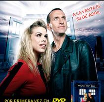 Publicidad Doctor Who . Un proyecto de Diseño, Publicidad, Diseño editorial y Diseño gráfico de Marta Arévalo Segarra         - 03.11.2013