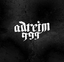 Adreim999 // Logo // Vinilos. Un proyecto de Diseño de Tony Raya  - Jueves, 23 de enero de 2014 00:00:00 +0100