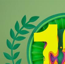 LA PEGATINA 10º ANIVERSARIO. Un proyecto de Ilustración, Música, Audio y 3D de noelia lozano cardanha - 13-11-2013