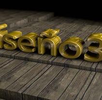 Diseños 3D. Um projeto de Design e 3D de Gonzalo Jimenez Huete         - 13.11.2013