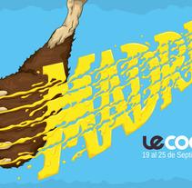 Le Cool Madrid . Un proyecto de Diseño e Ilustración de Daniel Portal Gil         - 16.11.2013