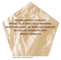 MATEO MATÉ - El eterno retorno. Un proyecto de Diseño de lete mgrafico - Sábado, 23 de noviembre de 2013 07:30:31 +0100