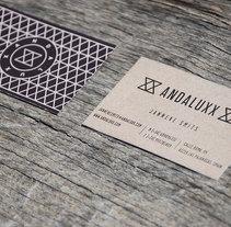 TARJETAS DE VISITA ANDALUXX. Un proyecto de Diseño de Bas Bravo Porto - Martes, 21 de mayo de 2013 00:00:00 +0200