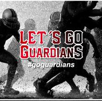Propuesta de Logo para Equipo de Fútbol Americano Vigo Guardians. Un proyecto de Diseño de Carlos Garrido Velasco         - 25.11.2013
