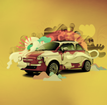 Fiat &IdeaFixa. A Design&Illustration project by Elvis Benício         - 25.11.2013