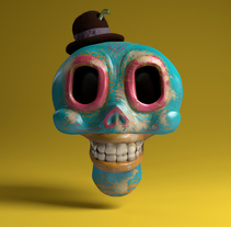 DIA DE LOS MUERTOS // BOCETOS. A Design, Illustration, and 3D project by Javier Verdugo - 11.26.2013