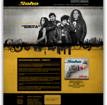"Diseño y desarrollo web para ""Soho"". A Design, and Software Development project by Blanca  - 26-11-2013"