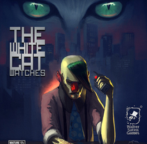 The White Cat Watches. Un proyecto de Diseño, Ilustración y Motion Graphics de Dumaker Martín Navas         - 26.03.2013