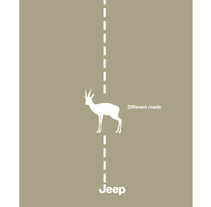 Different roads. Jeep. A Design, Illustration, and Advertising project by Pedro  Manero Aranda - Nov 29 2013 12:00 AM