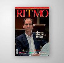 Revista Ritmo - Portada. Um projeto de Fotografia de Bruno Cebrián         - 15.09.2013