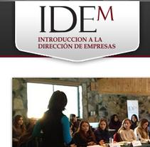 IDEM  Diseño Web / Publicitario. A Design, Advertising, Software Development, Photograph&IT project by As Diseño Diseño Web Monterrey         - 10.12.2013