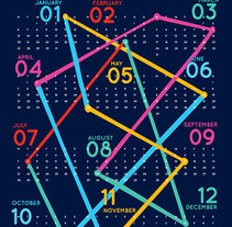 Calendar 2014. A Illustration project by Judy Kaufmann - 15-12-2013