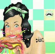 Ilustración de moda. Un proyecto de Ilustración de Cristina J. Granados         - 16.12.2013