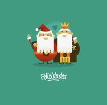Feliz Cádiz!. A Design, Illustration, and Advertising project by Rebombo estudio  - 20-12-2013