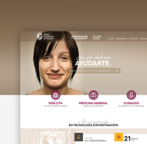 Clínica Universidad de Navarra. Un proyecto de UI / UX y Diseño Web de Jimena Catalina Gayo - 15-12-2013