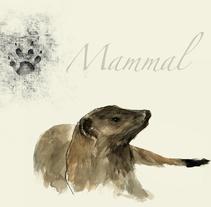 Mammal. Um projeto de Design e Ilustração de José Tomás Pérez del Moral         - 03.11.2013