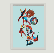 YOROKOBU COVER. A Design, Illustration, and Advertising project by óscar   gutiérrez gonzález - Jan 07 2014 12:00 AM