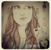 Retratos de Invierno. A Illustration project by Cecilia Sánchez         - 13.01.2014