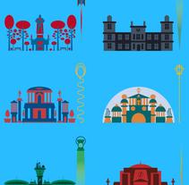DC COMIC'S ICONS (Posters). A Design&Illustration project by Jhonny  Núñez - 01.17.2014