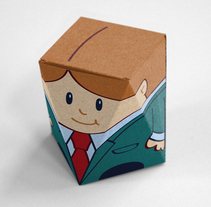 Partidos (juego de mesa político). A Packaging, Product Design, To, and Design project by José García Magdaleno - 15-01-2014