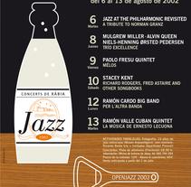 Xàbia Jazz. Un proyecto de Ilustración, Dirección de arte y Diseño gráfico de Estudio Lina Vila         - 22.01.2014