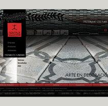 Diseño web PIERDEKOR. A Design project by Esther Martínez Recuero - Jan 21 2014 12:00 AM